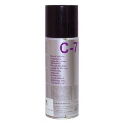 SPRAY C-70 OLIO DI SILICONE DA 200ML DUE CI