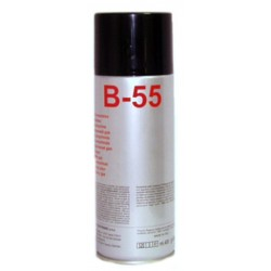 SPRAY B-55 Low GWP ARIA COMPRESSA NON INFIAMMABILE 400ML DUE CI ELECTR.