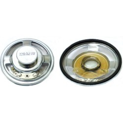 ALTOPARLANTE MYLAR 0,25W 25 oHM D.50MM- H13mm
