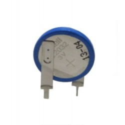 ML 2032 BATTERIA LITIO 3V RICARICABILE 2 PIN VERTICALE