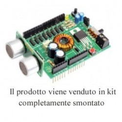 KIT Shield alim per Arduino max 8 servo