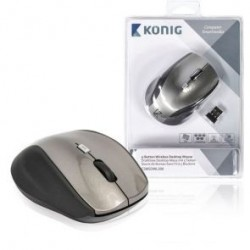 MOUSE OTTICO 5T WIRELESS CSMSDWL300-GR