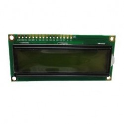 DISPLAY LCD 16X2 HD44780 RETROILLUMINATO BLU