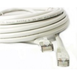 CAVO PATCH CORD FTP CAT5E 10 MT GRIGIO