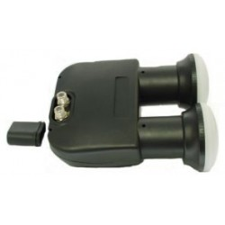 LNB ASTRA/HOT BIRD DUAL FEED 2 OUT SEPARATE X 2 SATELLITI