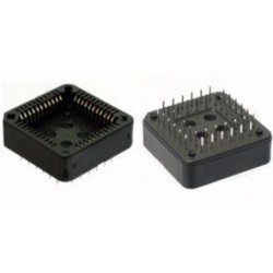 ZOCCOLO PROFESS. SOCKET PLCC 44 pin/PBT