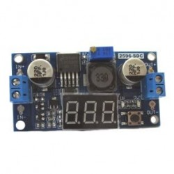 CONVERTITORE DC/DC STEP-DOWN In 4..38V OUT 1,25..36V 5A CON DISPLAY