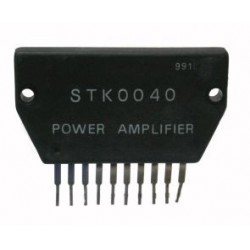 STK 0040 1X40W DARLINGTON POWER AMP. NEW ORIGINAL SANYO/PMC