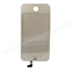 TOUCH VETRINO FLAT/CONN IPHONE 4G BIA