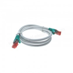 CAVO PATCH CORD UTP CAT6E CROSS 1 MT
