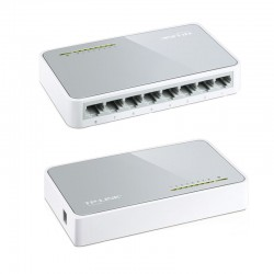 HUB ETHERNET 10/100Mbps Desktop Switch 8 PORTE TP-LINK TL-SF1008D