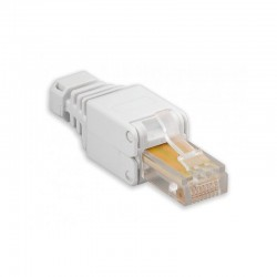 SPINA RJ45 Cat. 5/6 TOOLESS CON COPRICONNETTORE