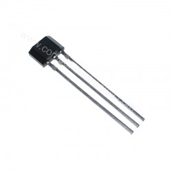 SS 49E SENSORE HALL EFFECT MAGNETIC 3.3V .. 10V 20mA TO92 FLAT 3 PIN