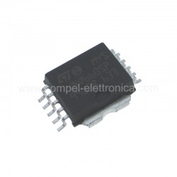 VNQ 660 SP QUAD CHANNEL HIGH SIDE SOLID STATE RELAY PowerSO-10tm