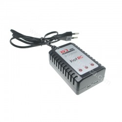 CARICA BATTERIA RAPIDO LiPo/LITIO 2/3 CELLE 7,4V/11,1V POWER 100/240Vac