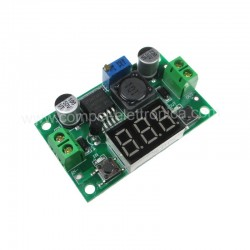 CONVERTITORE DC/DC STEP-DOWN In 4..38V OUT 1,25..36V 3A CON DISPLAY