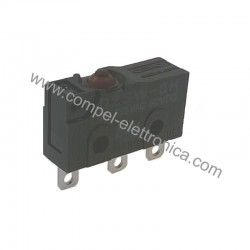 MICRODEVIATORE SWITCH 3A 125VAC IP67 SPDT