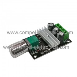 REGOLATORE DI VELOCITA' MOTORI CC 6V...28Vdc 3A 80W SWITCH ON/OF