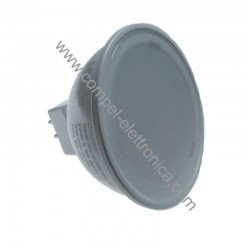 FARETTO A LED GU5,3 12V 7W 3K UCE CALDA D50MM