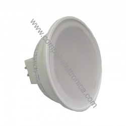 FARETTO A LED GU5,3 12V 7W 4K UCE NATURALE D50MM