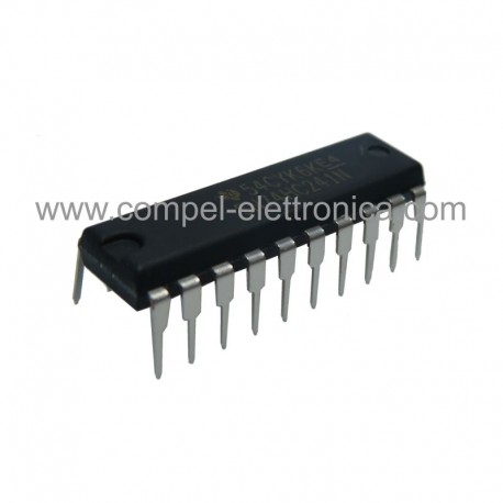 SN 74 HC 241N IC OCTAL CUFFERS AND LINE DRIVERS 3-STATE OUTPUTS DIP14