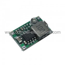 CONVERTITORE DC/DC STEP-DOWN In 4,7Vdc a 23Vdc Out 1V...17V 3A 10x17x4mm