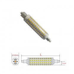 dismesso***LAMPADA A LED R7S 14W 1400 Lm 6K 118 MM