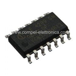TLE 4299 GM IC 5V LOW-DROP FIXED VOLTAGE REGULATOR SOP-14 SMD