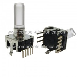 ENCODER INCREMENTALE CON LED 24IMP/GIRO 5Vdc 5A CON SWITCH
