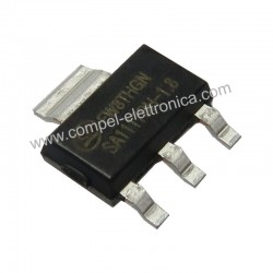 SA 1117BH1.8 IC 800mA 1,8V LDO VOLTAGE REGULATOR SOT-2233L