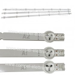 KIT 3 BARRE LED TV LG 2PZ 6916L-1204A - 1PZ 6916L-1205A 32""
