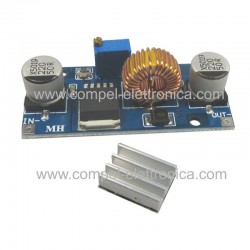 CONVERTITORE DC/DC STEP-DOWN In 4..38V OUT 1,25..36V 5A