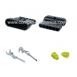 CONNETTORE SUPERSEAL 1.5 - 6 PIN MASCHIO IP67