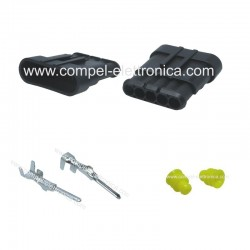 CONNETTORE SUPERSEAL 1.5 - 5 PIN MASCHIO IP67